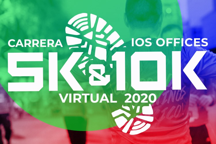 CARRERA IOS OFFICES 5K Y 10K VIRTUAL 2020 (VIRTUAL RACE)