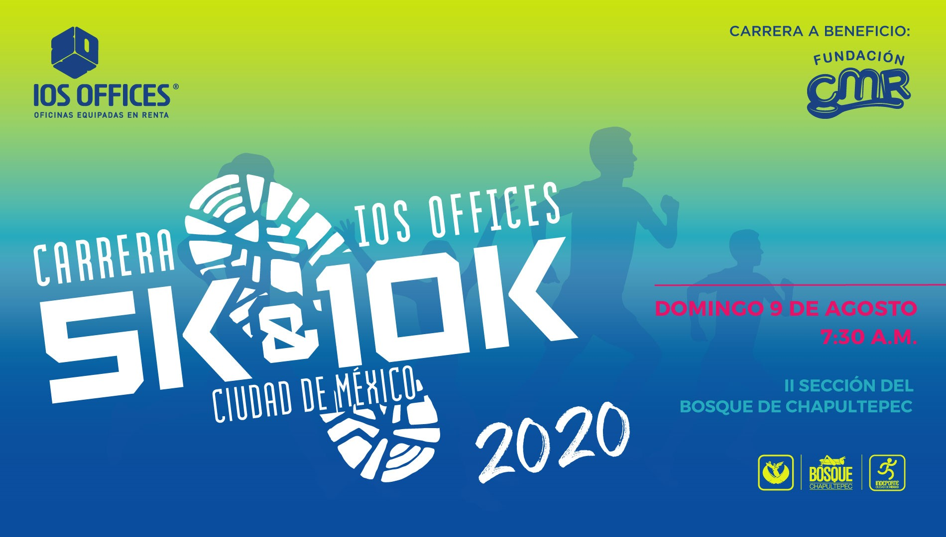 CARRERA IOS OFFICES 5K Y 10K CDMX 2020