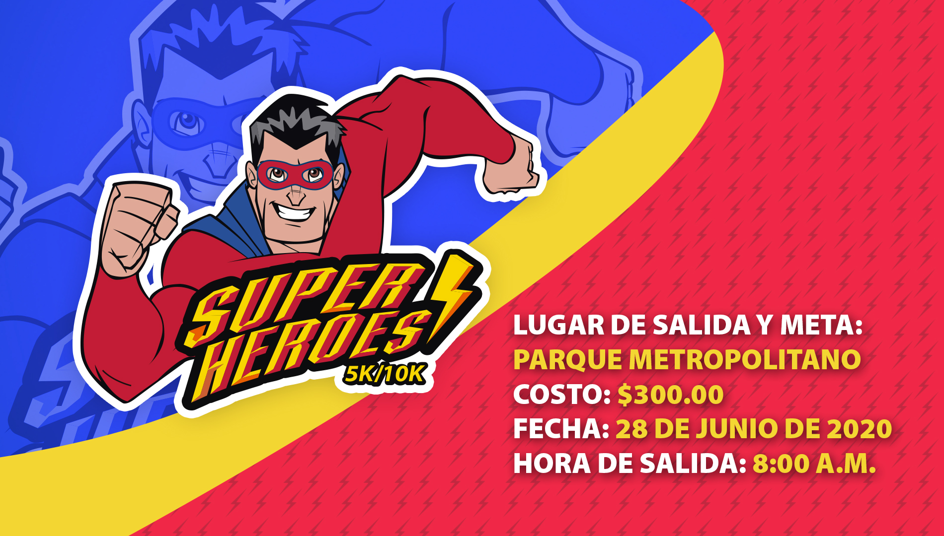 SUPER HÉROES RUN GUADALAJARA