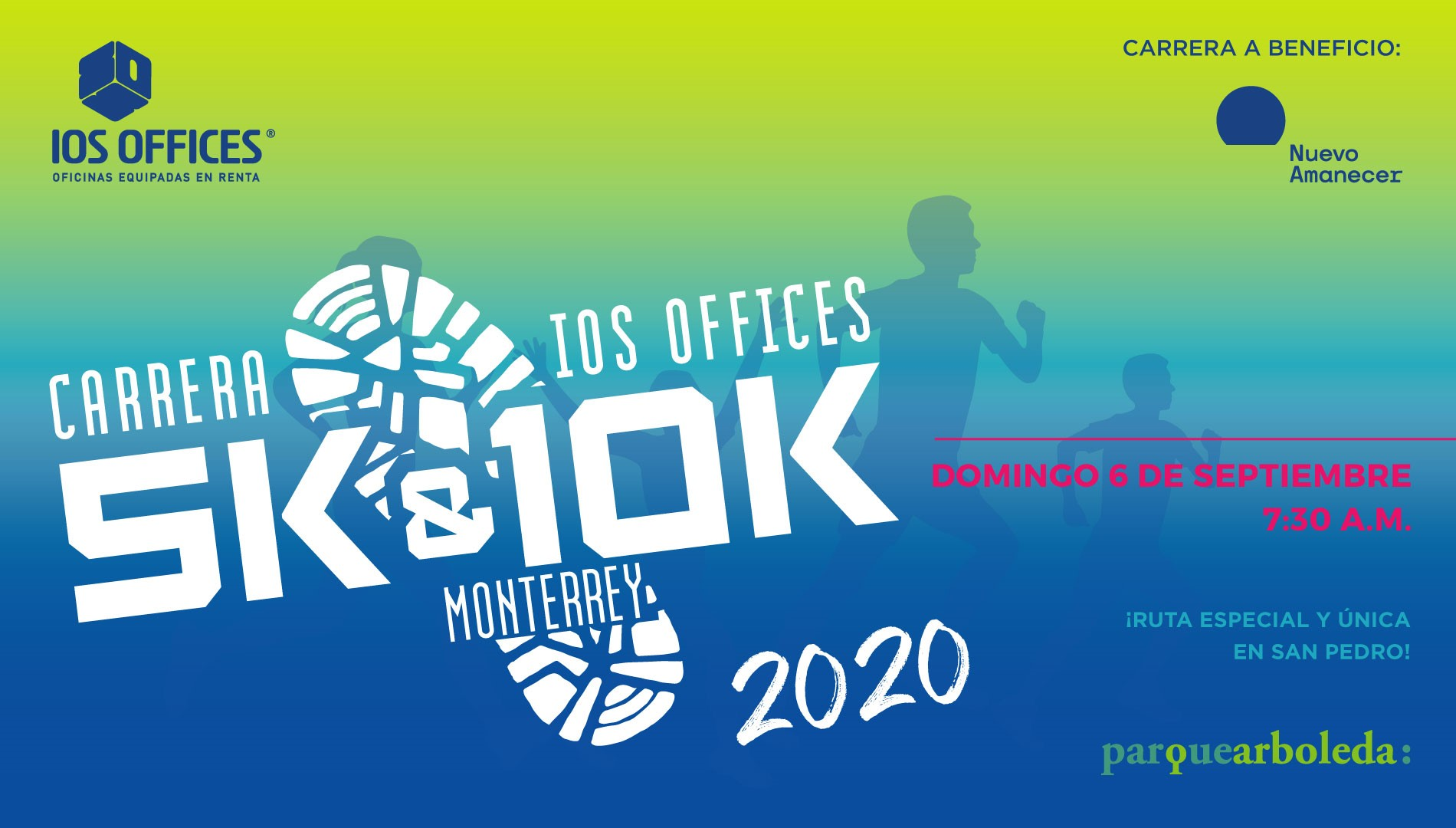 CARRERA IOS OFFICES 5K Y 10K  MTY 2020