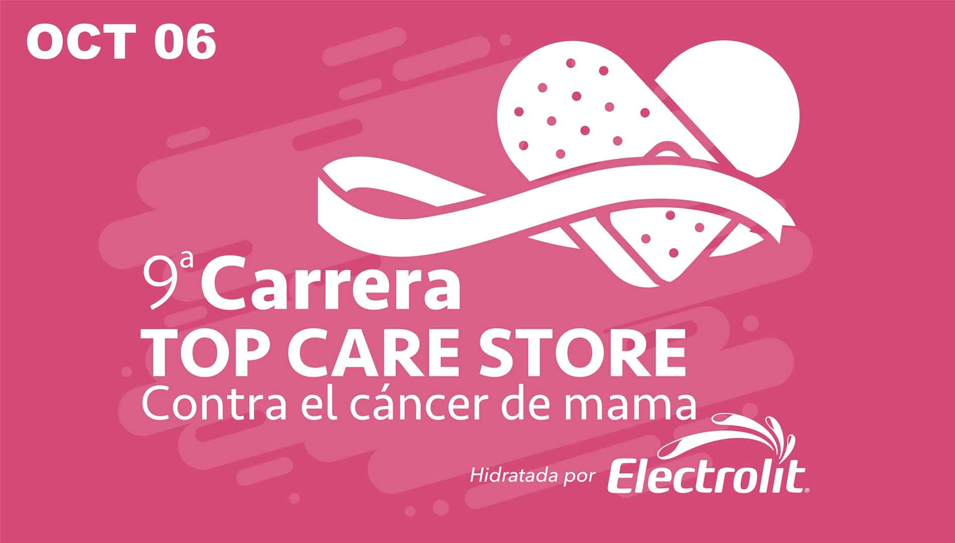 9° CARRERA TOP CARE STORE CONTRA EL CÁNCER DE MAMA
