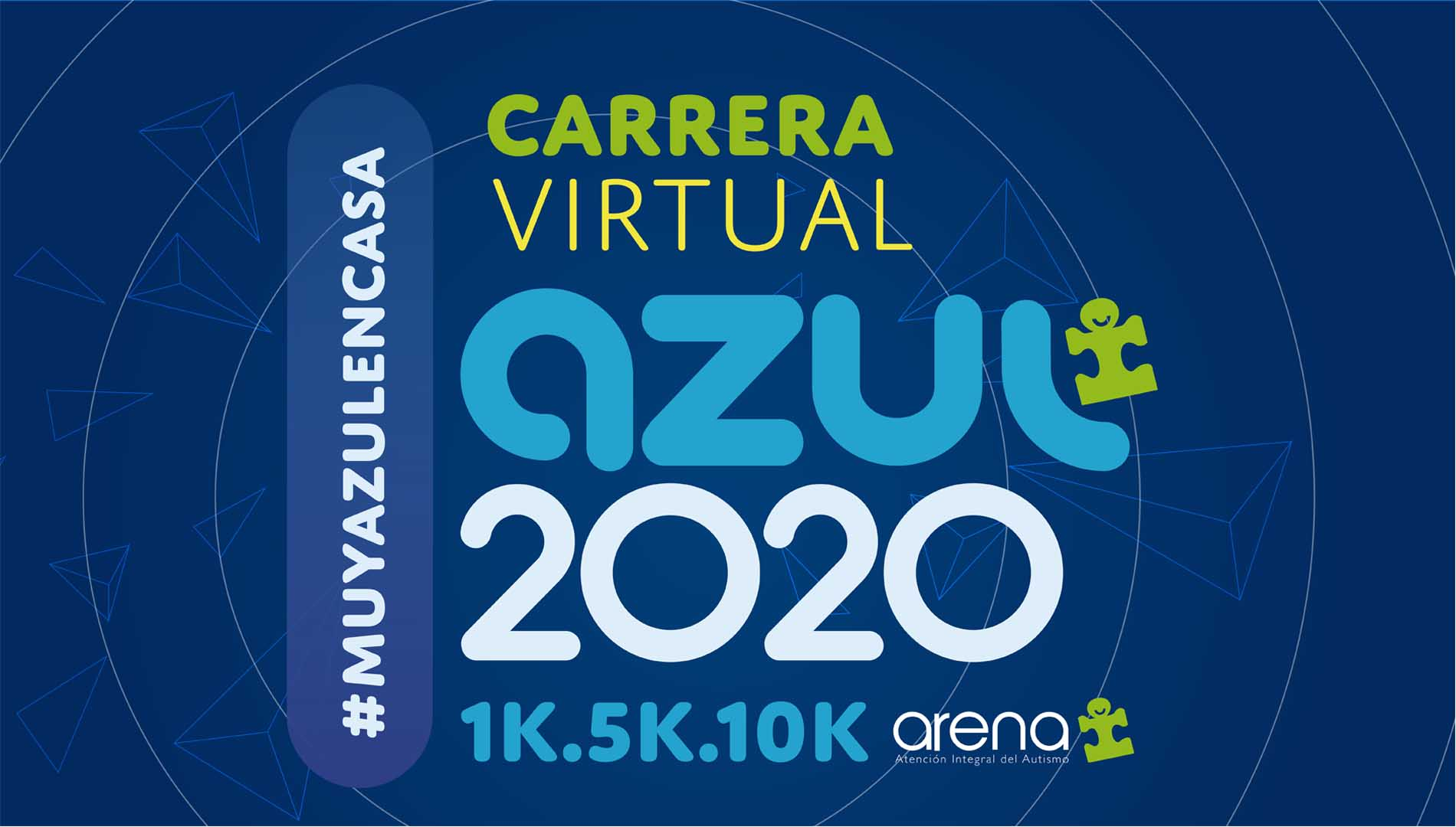 CARRERA VIRTUAL AZUL 2020 1K 5K 10K