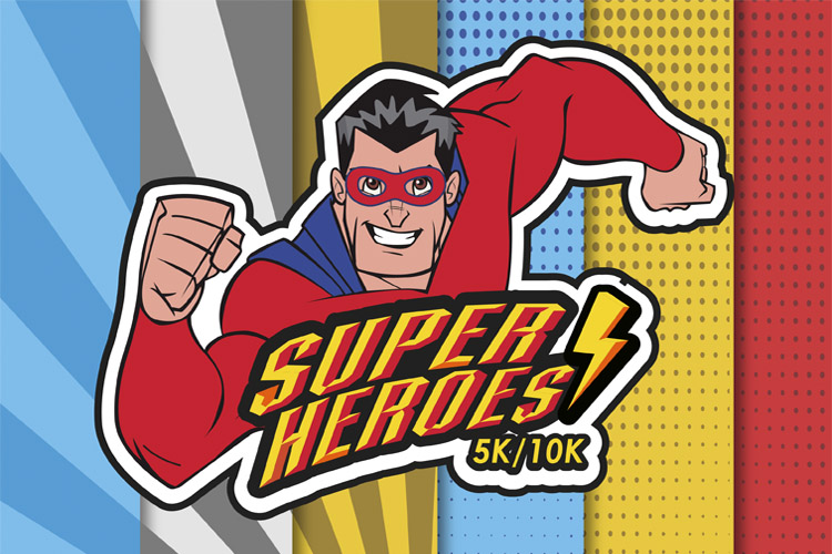 PRIMER CARRERA VIRTUAL SUPER HEROES
