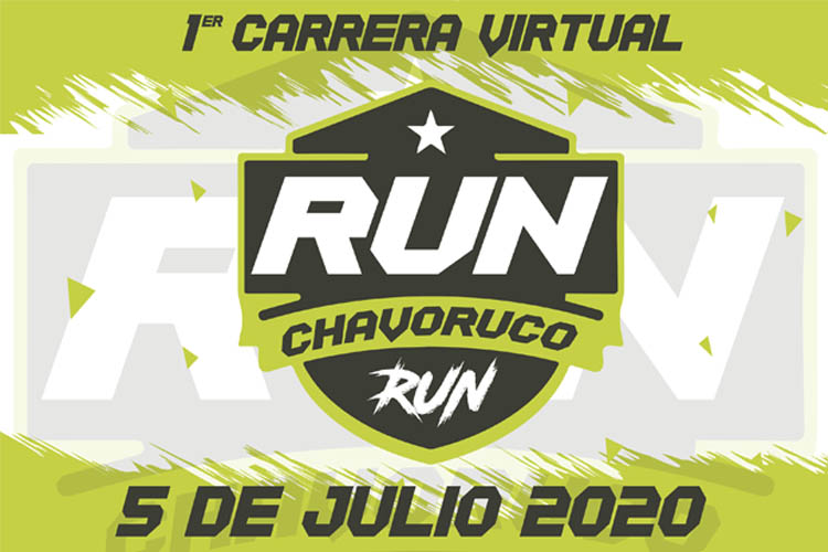 RUN CHAVORUCO RUN 3K, 5K Y 10K (VIRTUAL RACE)