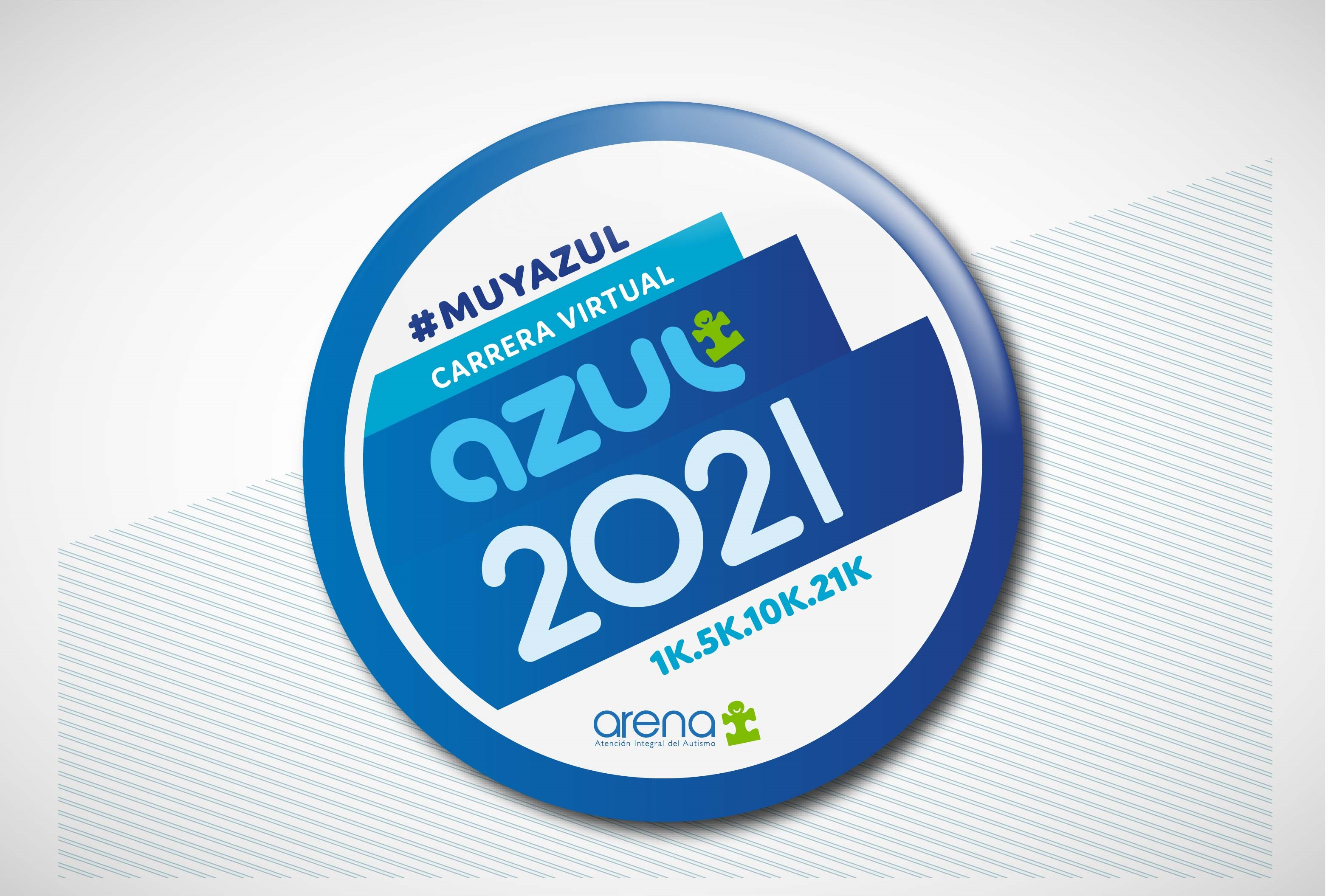 CARRERA VIRTUAL AZUL 2021